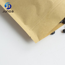 Brown kraft paper dried food packaging bags/dried food packaging bag