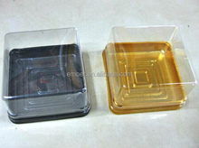 mini PVC moon cake tray cake package tray