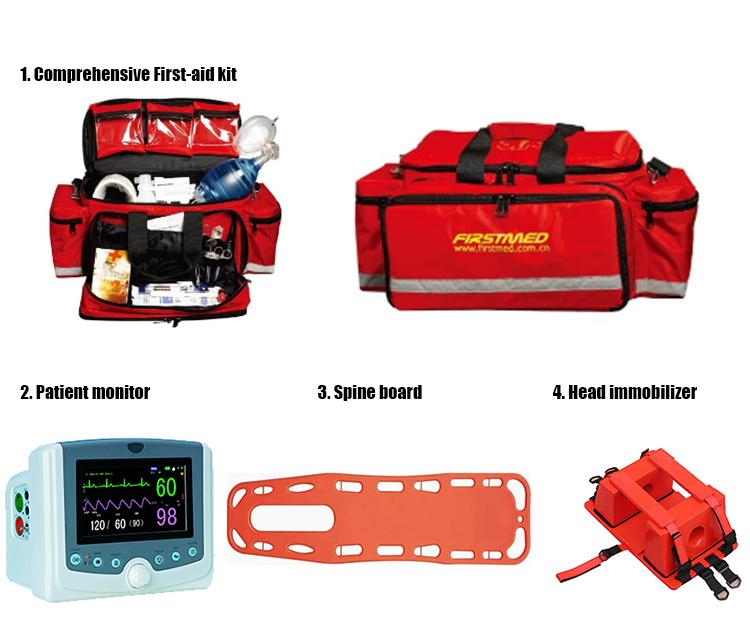 Equipped China 4x4 4wd  ambulance