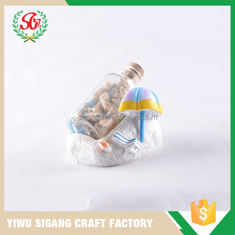 SGC677 high quality factory price glass message bottle