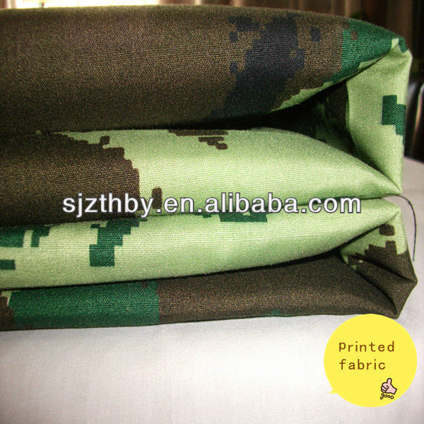 polyester/cotton military multicam fabric