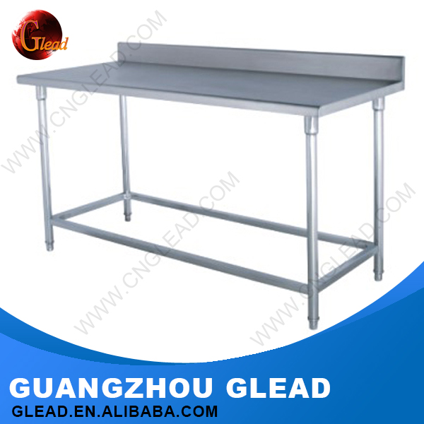High quality different types stainless steel kitchen work table with 4 drawer