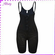 Classic Black Zipper Shaperwear With Hole magic slim slimming body shaper
