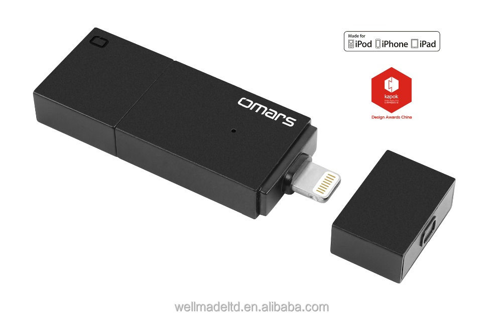 [ MFi Certified ] Omars 32G /64G OTG USB3.0 iFlash Drive for iPhone iPad with Kapok award-winning design