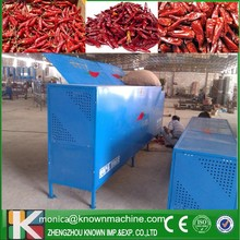 electric red chili tail cutting equipment /chili stem removing machine