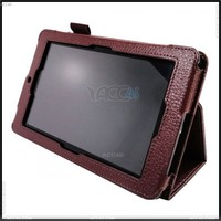 Litchi Grain Folio Stand 7 inch Tablet Leather Case for ASUS MeMO Pad ME172V P-ASUSMEMO171CASE001