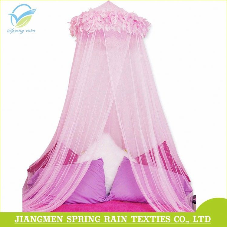 Large Universal Size Mosquito Net Bed Canopy Princess Bed Round Curtain