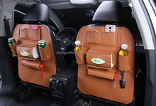 fashion color polyester car organizer kids back seat organizer