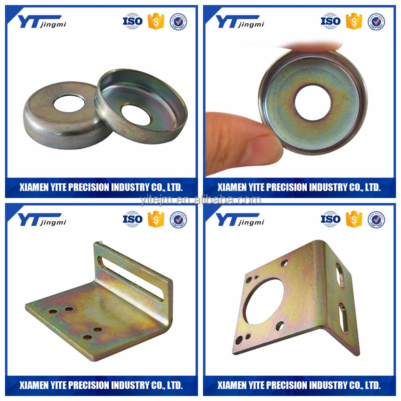 Factory custom fabrication services steel metal stamping parts