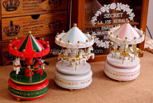 fashion music boxes wholesale musical toy carousel