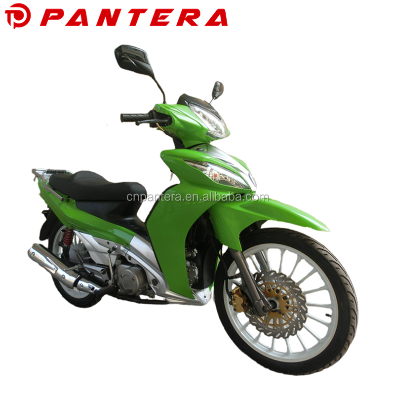 High Performance 110cc Cub Motorcycle Chongqing Adult On Road Gas Motorcycle with Front Disc Brake