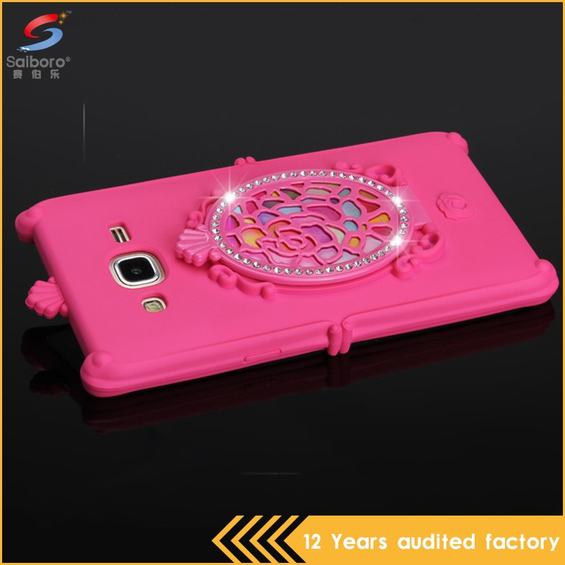 Attractive appearance super luxury back case for samsung j5