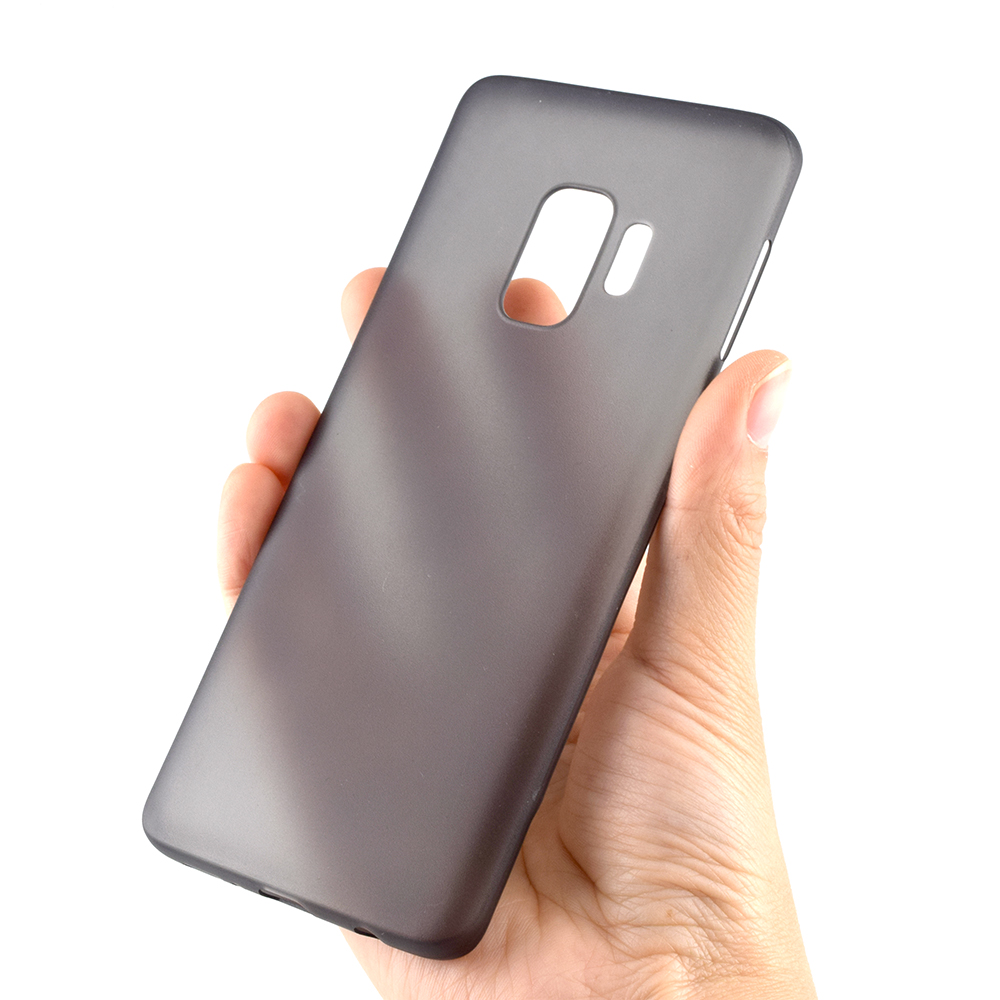 Free Sample Slim Clear Matte Plastic 0.3mm Super Thin Skin Cell Phone Case For Samsung Galaxy S9 S9 Plus