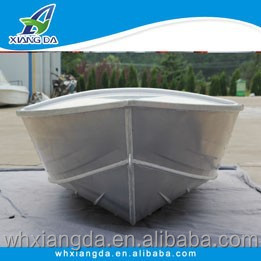 Full welded small aluminum row boat for sale