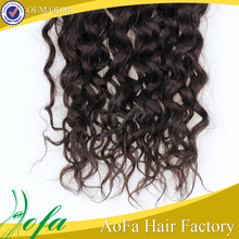Grade 9a virgin brazilian loose curly weave hair extensions