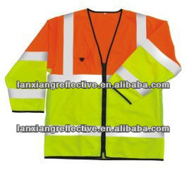 Long sleeves safety vest sleeves LX614-y