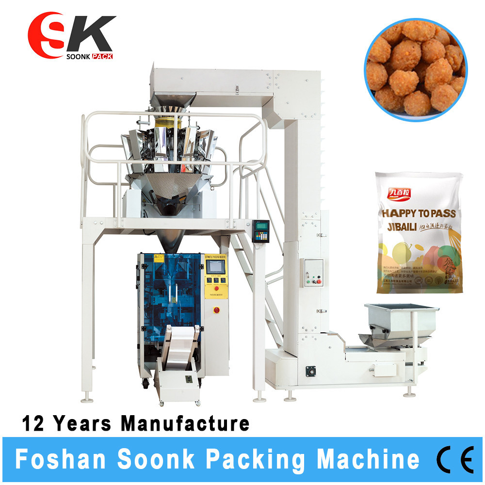 Vertical Organic Fertilizer Packaging Machine