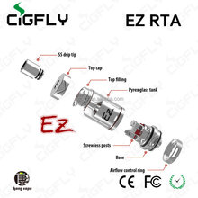 Factory price UD EZ RTA electronic cigarette, The first batch release.