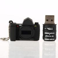 New Black Camera 2GB USB Flash Pen Drive Memory Stick Drive