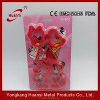 2016 funny made in china Mickey Mouse cookies cutter HY3004