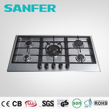 Italian SABAF Burner and copy Burner automatic gas stove/corner gas hob