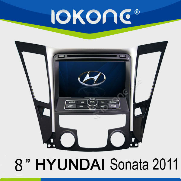 Double din 8'' HD Touch screen Car DVD player for Hyundai Sonata/I40/I45/I50