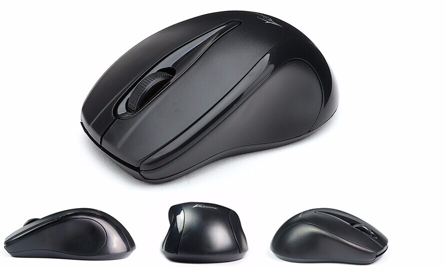 Top custom logo optical wireless mouse for computer hardware & software