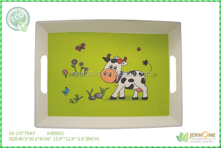 Food grade 2016 Latest acrylic serving tray