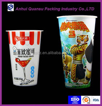 iml food packaging art in mould label print