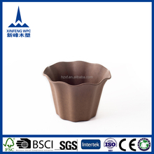 Durable natural looking ceramic peacock flower pots
