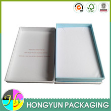 luxury white cardboard box inserts packaging
