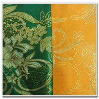 polyester chinese brocade jacquard fabric for tablecloth