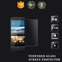 AF Coating Anti-glare Japanese Material Explosion-proof Tempered Glass Screen Protector for htc one me dual Free Sample