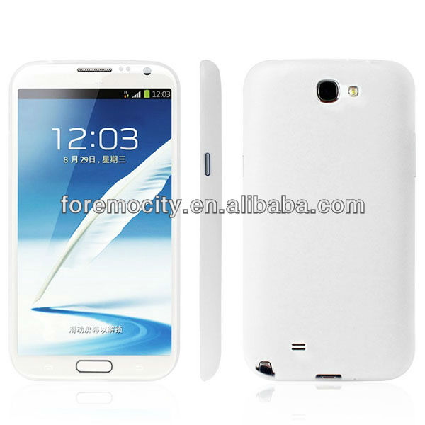 ultra thin case hot selling mobile phone case for samsung galaxy note 2 n7100