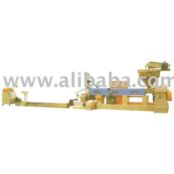 waste plastic recycling pelletizing machine