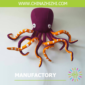 New Style Octopus Home Decoration Animal Head Wall Hanging Animal Head Decoration