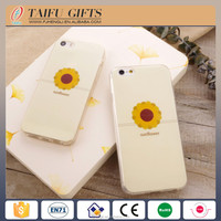 personalized flower silicone mobile phone case cover
