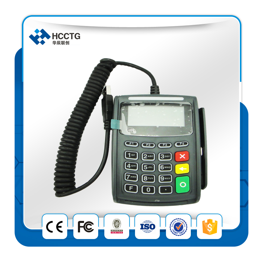 Portable Emv Card Reader And Pinpad Smart For Pos E4020N