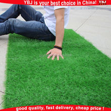 2016 YBJ Cheap Chinese Plastic Natural Landscape grass Garden Carpet Mat