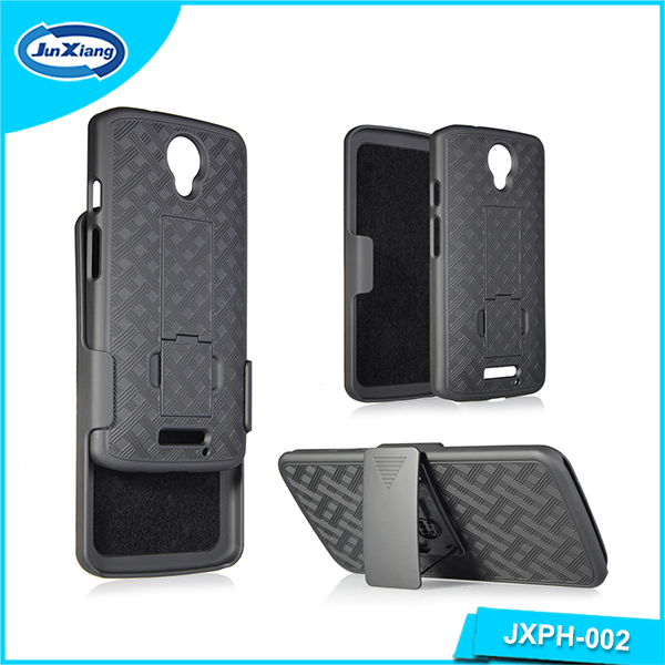 Wholesale holster mobile phone case with swivel belt clip for Motorola Turbo 2