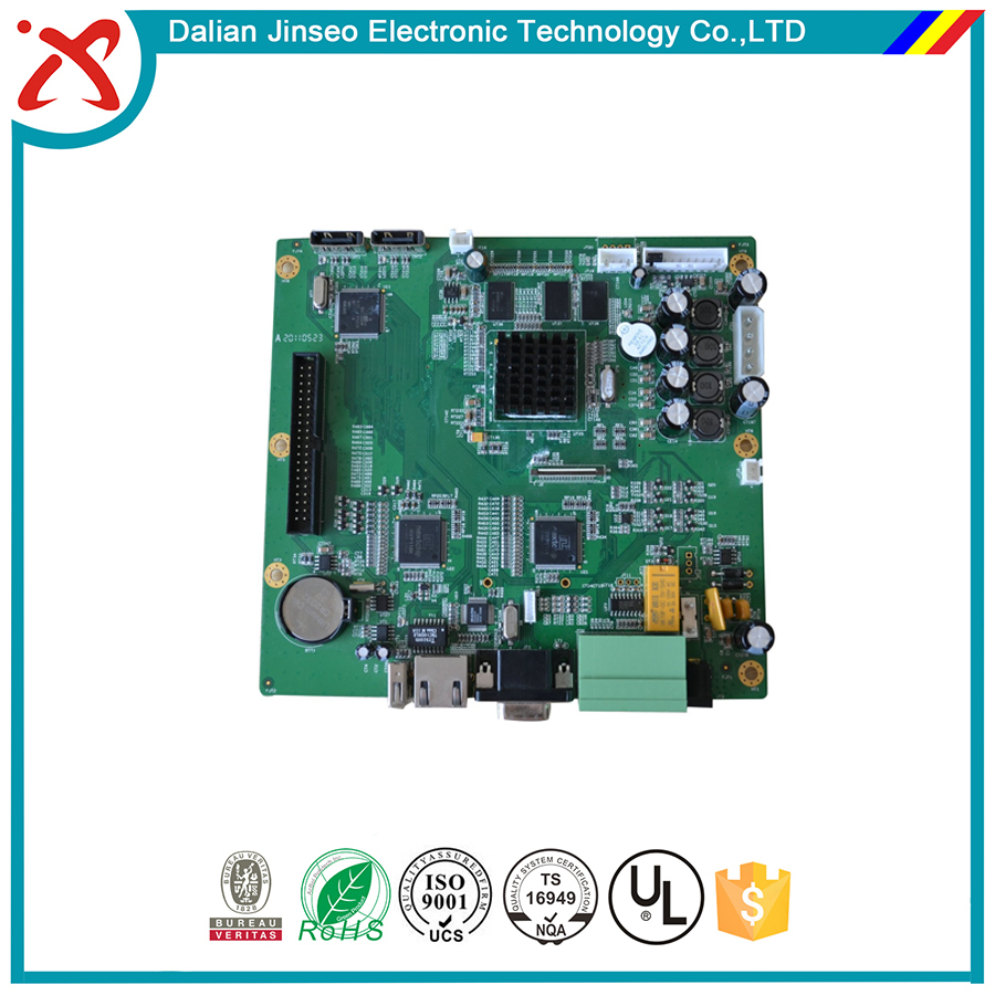 Electronic product formatter board assembly