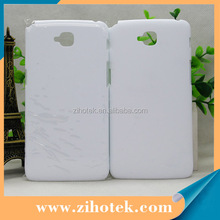 Sublimation heat transfer Hard Plastic phone case printing for LG G Pro Lite