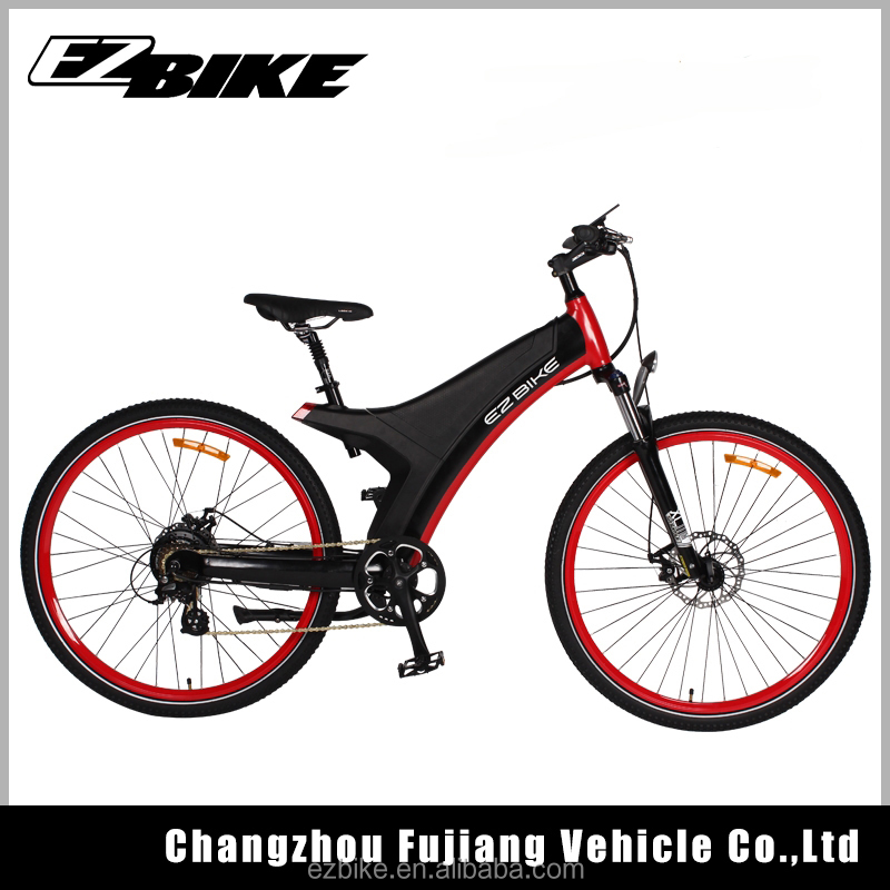 Competitive Sport Downhill Wheels 29 Inch Bicycle Electric Bike