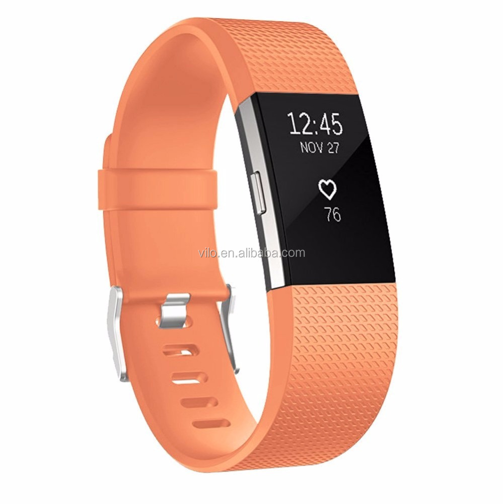 Slim TPE Sports Replacement Watch Strap for Fitbit Charge 2 Wholesale