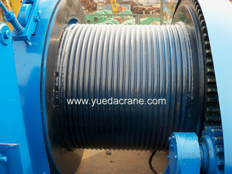 JM model electric winch 50 ton winch