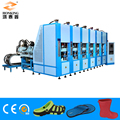 EVA footwear injection moulding machine with 6 station