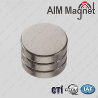 N42 20mm x 5mm Strong Flat Magnet