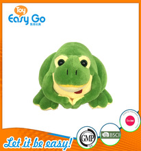 Plush China Toy Import Cute Green Frog For Gift
