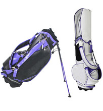 New Design PU leather Outdoor Sport folding travel golf bag