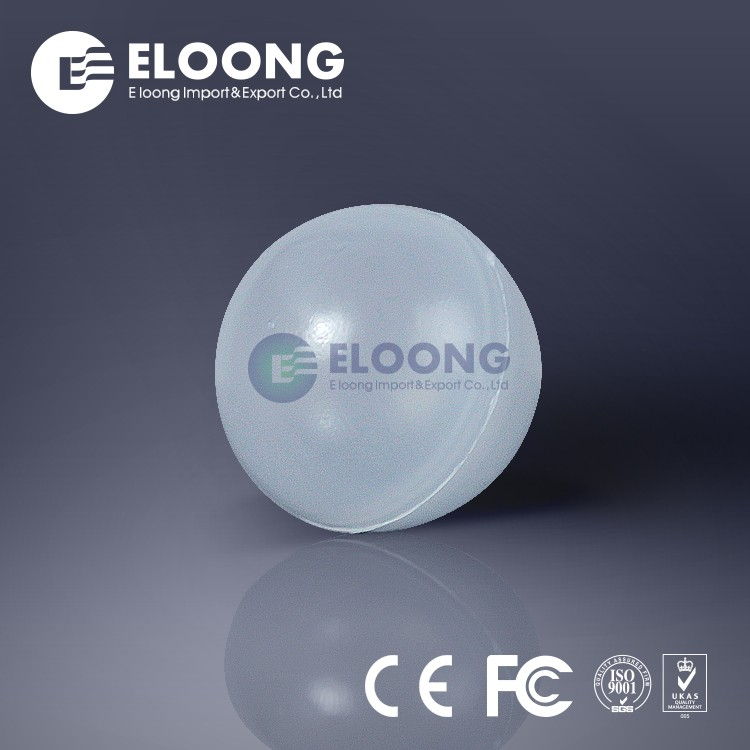 High Hardness PP POM ABS Plastic Transparent Sphere For Packed Column Of Oil